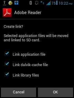 Cara Menggunakan Link2SD 3