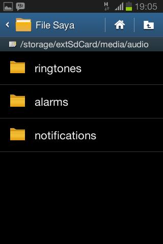 Mengganti Nada SMS, Notifikasi, dan Ringtone di Android4