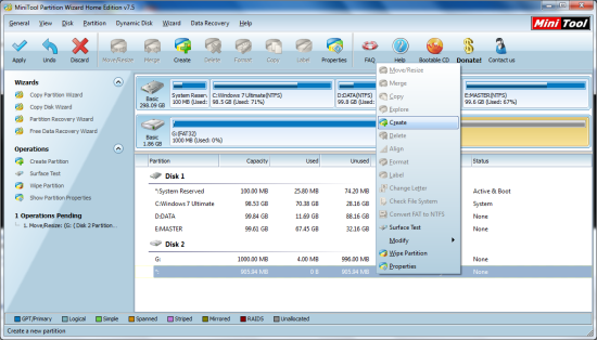Mini Partition Wizard5
