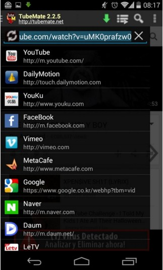 TubeMate YouTube Downloader 1