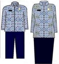 pakaian dinas korpri
