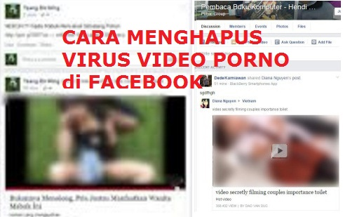 Cara Mengatasi Virus Tag & Share Video P0rno di Facebook Group