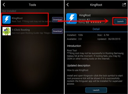 Root Android dengan Kingroot