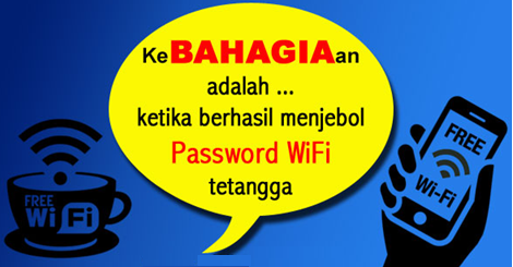 cara membobol password wifi